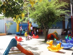 Pátio de Recreação do Infantil